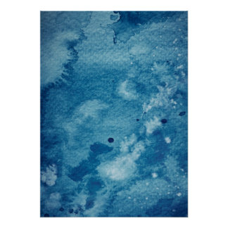 Abstract Watercolor Background Poster