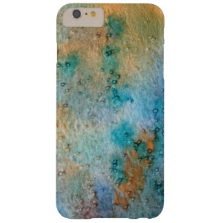 abstract watercolor, blue yellow orange pattern barely there iPhone 6 plus case