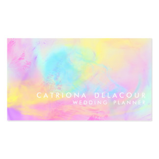 Abstract Watercolor Contemporary Business Card