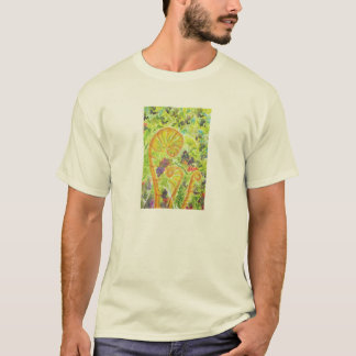 Abstract watercolor ferns T-Shirt