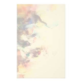 Abstract watercolor grunge texture with paint stationery