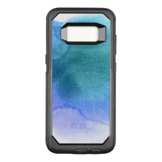 Abstract watercolor hand painted background 12 OtterBox commuter samsung galaxy s8 case