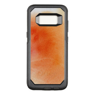 Abstract watercolor hand painted background 15 OtterBox commuter samsung galaxy s8 case
