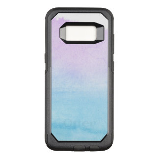 Abstract watercolor hand painted background 18 OtterBox commuter samsung galaxy s8 case