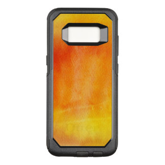 Abstract watercolor hand painted background 19 OtterBox commuter samsung galaxy s8 case