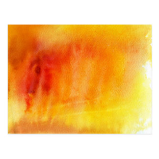 Abstract watercolor hand painted background 19 postcard
