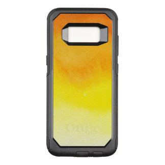 Abstract watercolor hand painted background 2 3 OtterBox commuter samsung galaxy s8 case