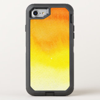 Abstract watercolor hand painted background 2 3 OtterBox defender iPhone 7 case