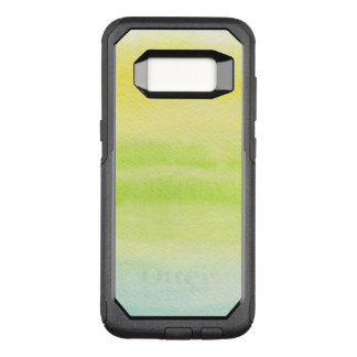 Abstract watercolor hand painted background 2 4 OtterBox commuter samsung galaxy s8 case