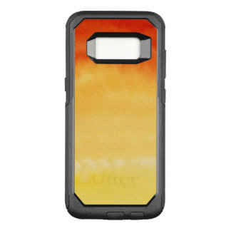 Abstract watercolor hand painted background. 2 OtterBox commuter samsung galaxy s8 case