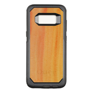 Abstract watercolor hand painted background 2 OtterBox commuter samsung galaxy s8 case