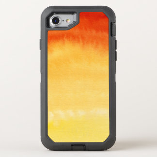 Abstract watercolor hand painted background. 2 OtterBox defender iPhone 7 case