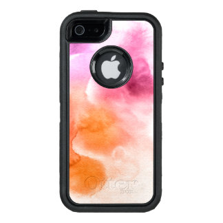 Abstract watercolor hand painted background 3 2 OtterBox iPhone 5/5s/SE case