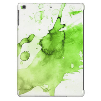 Abstract watercolor hand painted background 3 cover for iPad air