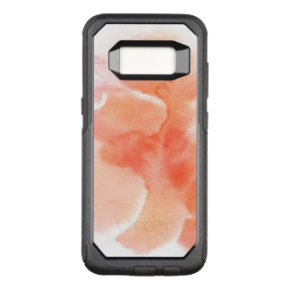 Abstract watercolor hand painted background 4 OtterBox commuter samsung galaxy s8 case