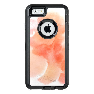 Abstract watercolor hand painted background 4 OtterBox iPhone 6/6s case