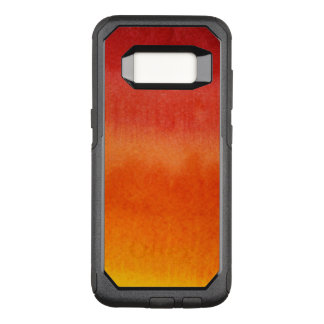Abstract watercolor hand painted background 5 2 OtterBox commuter samsung galaxy s8 case