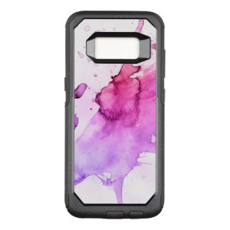 Abstract watercolor hand painted background 5 3 OtterBox commuter samsung galaxy s8 case