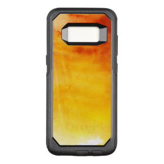Abstract watercolor hand painted background 6 3 OtterBox commuter samsung galaxy s8 case