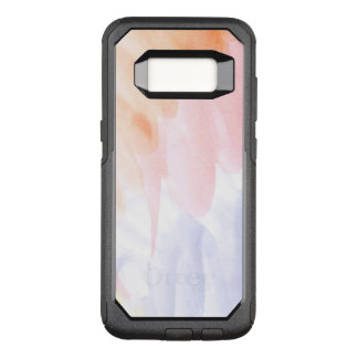 Abstract watercolor hand painted background 7 OtterBox commuter samsung galaxy s8 case