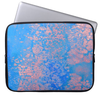 Abstract watercolor laptop sleeve