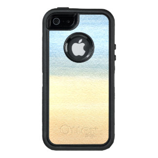 Abstract Watercolor OtterBox Defender iPhone Case