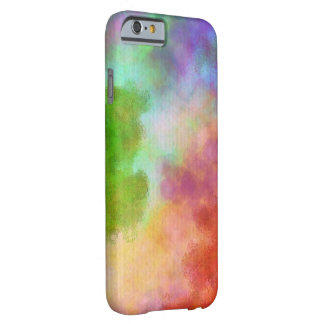 Abstract Watercolor Painting,Rainbow Barely There iPhone 6 Case