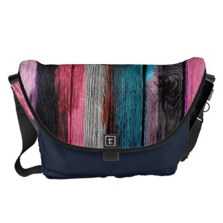 Abstract Watercolor Pattern Courier Bag
