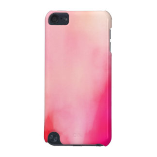 Abstract Watercolor Pink Coral Orange Colorful iPod Touch 5G Cover