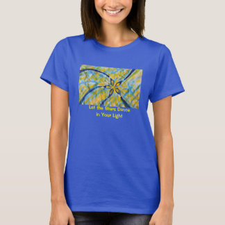 Abstract watercolor spinning, dancing star/flower T-Shirt