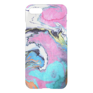 Abstract Watercolor Swirl iPhone 8/7 Case