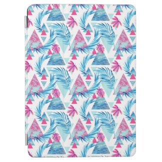 Abstract Watercolor Tropical Leaf Pattern iPad Air Cover