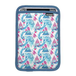 Abstract Watercolor Tropical Leaf Pattern iPad Mini Sleeve
