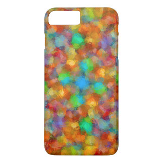 Abstract Watercolour Bubbly Pattern iPhone 7 Case