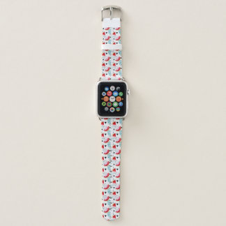 Abstract Watermelon Pattern Apple Watch Band