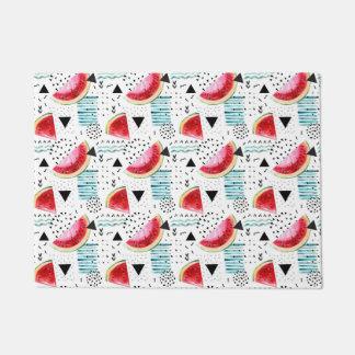 Abstract Watermelon Pattern Doormat