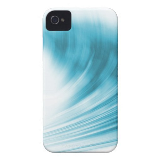 Abstract wave design Blackberry Curve case Case-Mate Blackberry Case