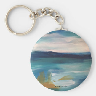 Abstract Waves - Keychain