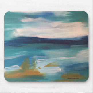 Abstract Waves - Mouse Mouse Pad