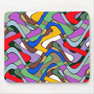 Abstract Waves Mousepads