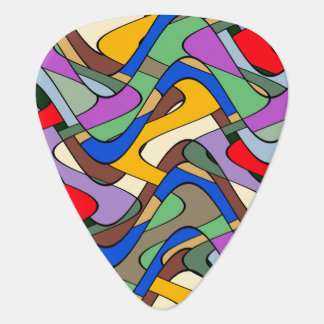 Abstract Waves Plectrum