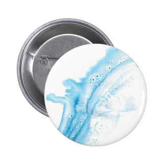 Abstract Whale 6 Cm Round Badge