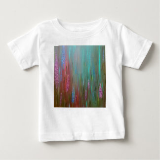 Abstract Wildflowers Baby T-Shirt