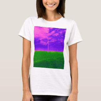 Abstract Wind Turbine T-Shirt