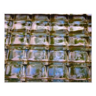 Abstract - Window Block Photo Print