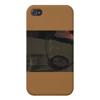 Abstract Wine Jug Tan Case Cases For iPhone 4