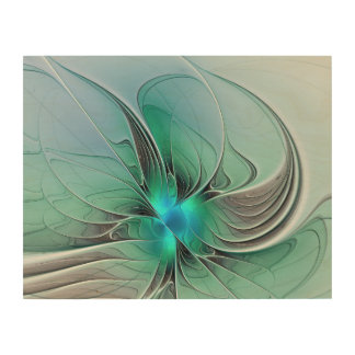 Abstract With Blue, Modern Fractal Art