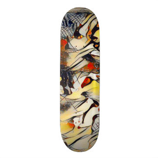 Abstract Wolf Element Custom Pro Park Board 20.6 Cm Skateboard Deck