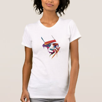 Abstract Woman Face T Shirt