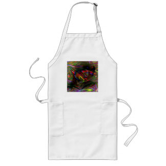 Abstract Woman Two Long Apron